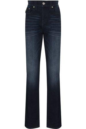 True Religion Mænd Straight - Jeans med lige ben og mellemhøj talje