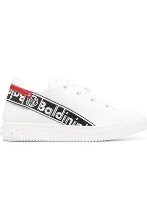 BALDININI Kvinder Sneakers - Logo-tape leather trainers