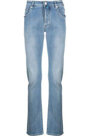 Jacob Cohen Mænd Slim - Jeans med smal pasform og falmet effekt