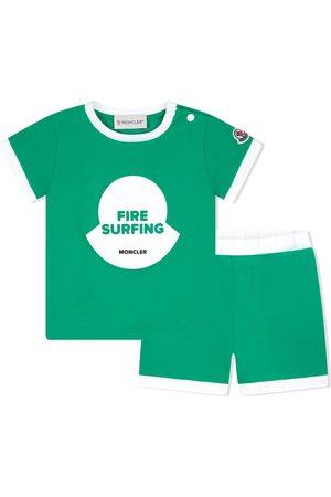 Moncler Fire surfing træningsshorts-sæt