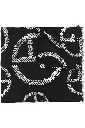Armani Striktørklæde med logotryk