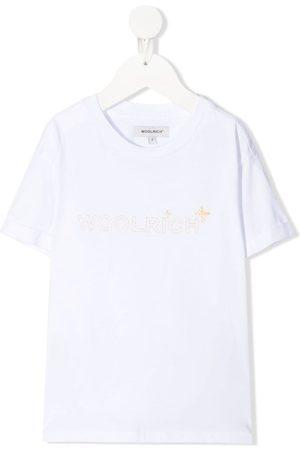 Woolrich T-shirt med logotryk
