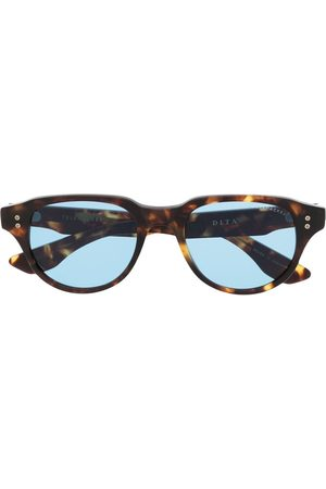 DITA EYEWEAR Solbriller med skildpaddeeffekt og rundt stel