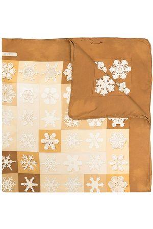 Hermès Tørklæder - Pre-owned silketørklæde med snefnugtryk