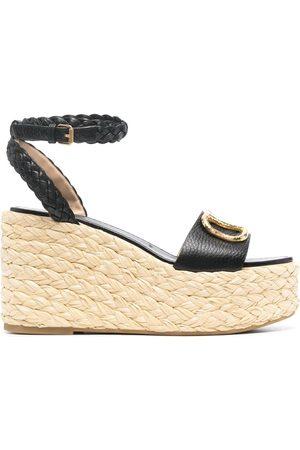VALENTINO GARAVANI Kvinder Kilehæle - VLogo wedge sandals
