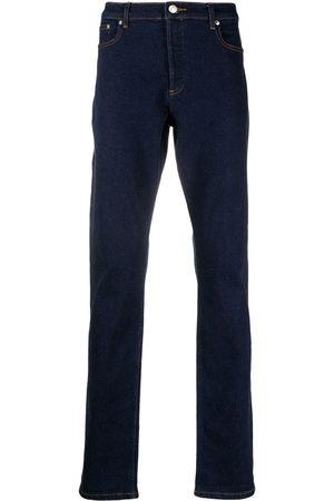 A.P.C. Mænd Straight - Straight-leg dark-wash jeans