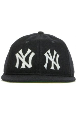 New Era Mænd Hatte - CAPPELLINO VISIERA PIATTA MLB RETRO CROWN 5950 COOPERSTOWN COLLECTON HISTORY