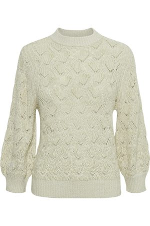Soaked in Luxury Kvinder Strik - Pointa Pullover 3/4