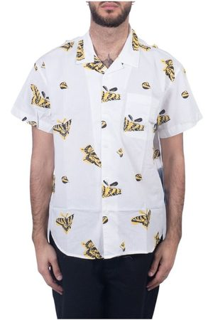 Obey Mænd Butterflies - CAMICIA BUTTERFLY