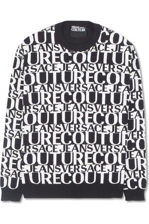 VERSACE Easy JACQ Lettering knitwear