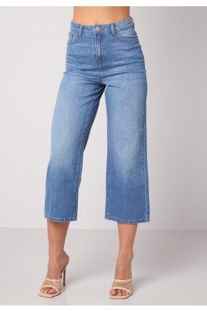 Happy Holly Pamela wide leg culotte jeans Medium denim 52