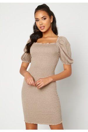 ONLY Nalena 2/4 Puff Smock Dress Almondine XL