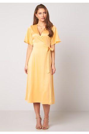BUBBLEROOM Scala dress Yellow 40
