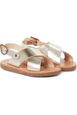 Ancient Greek Sandals Little Maria Soft leather sandals