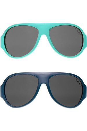 Mokki Solbriller - Solbriller - Click & Change - 10 dele - Turkis