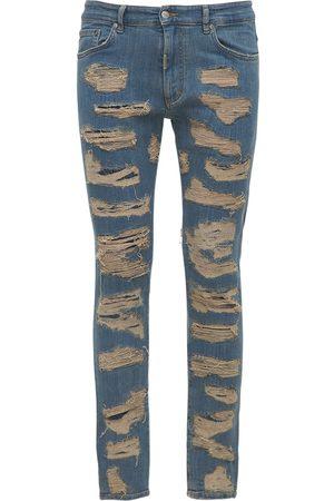 Represent Mænd Skinny - Shredded Skinny Fit Denim Jeans