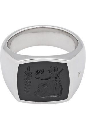 TOM WOOD Mænd Ringe - Onyx-udsmykket Athena ring