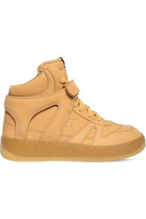 Isabel Marant Kvinder Sneakers - 30mm Brooklee Leather High Top Sneakers