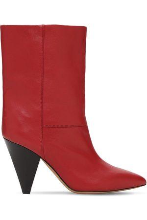 Isabel Marant Kvinder Ankelstøvler - 90mm Locky Leather Ankle Boots