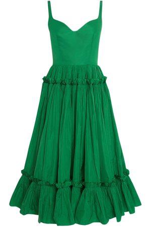 Alexander McQueen Sustainable Taffetà Sleeveless Dress
