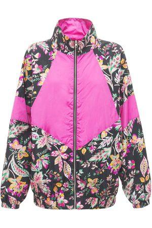 Isabel Marant Daialou Reversible Printed Nylon Jacket