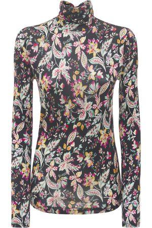 Isabel Marant Jewel Printed Stretch Jersey Viscose Top