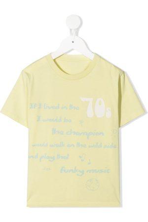 KNOT Drenge Kortærmede - T-shirt i økologisk bomuld