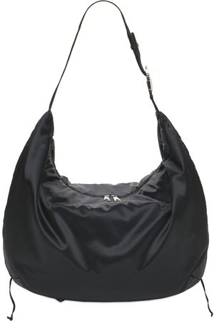 Bottega Veneta Nylon Satin Crossbody Bag