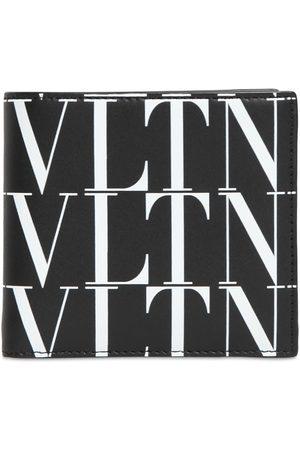 VALENTINO GARAVANI Mænd Punge - Vltn Times Print Leather Wallet