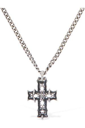 EMANUELE BICOCCHI Kvinder Halskæder - Tiny Notre Dame Cross Necklace
