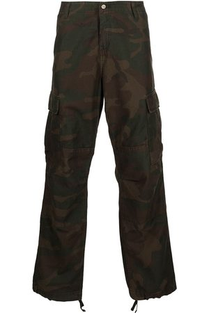 Carhartt Mænd Bukser - Camouflage-print cargo trousers