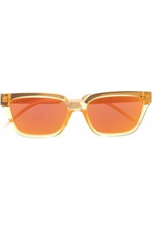 Gucci Mænd Solbriller - Solbriller med firkantet stel og spejlglas
