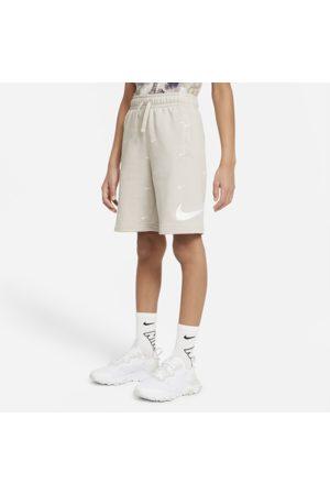 Nike Drenge Træningsshorts - Sportswear Swoosh-shorts i french terry til store børn (drenge)