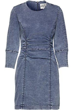 Just Female Kvinder Sommerkjoler - Glacier Denim Dress Dresses Jeans Dresses