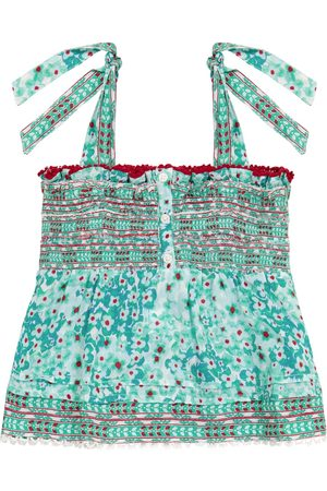 POUPETTE ST BARTH Exclusive to Mytheresa – Cindy printed cotton top