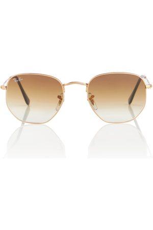 Ray-Ban RB3548 Hexagonal Flat sunglasses