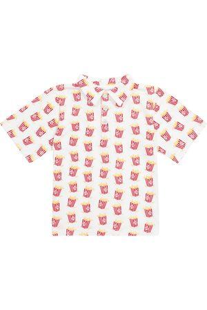 Rachel Riley Printed stretch-cotton polo shirt