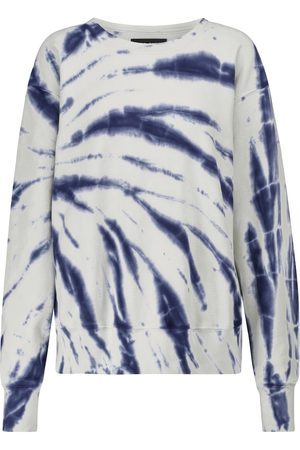 Les Tien Tie-dye cotton fleece sweatshirt