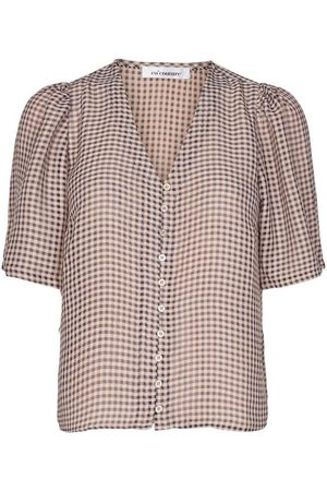 Co`Couture Amalie check top