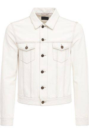 SAINT LAURENT Mænd Cowboyjakker - Fitted Denim Cotton Jacket