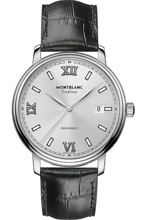 Mont Blanc Mænd Ure - Tradition Automatic 40mm White