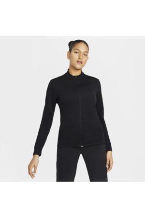 Nike Dri-FIT UV Victory-golftrøje med lynlås til kvinder