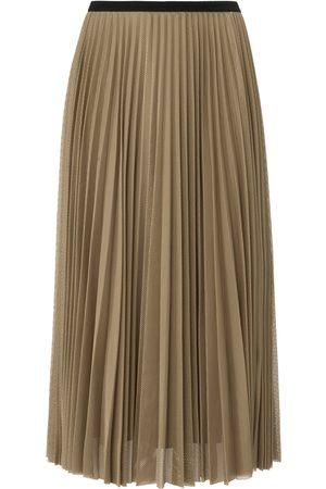 Margittes Plisseret nederdel Fra beige