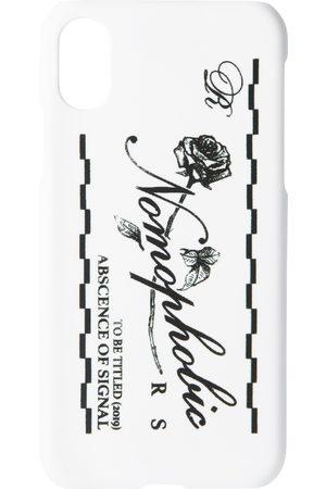 RAF SIMONS White Logo iPhone X Case