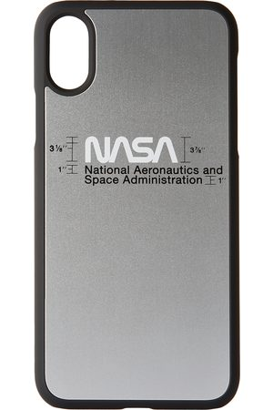 Heron Preston Silver Logo iPhone XS Case