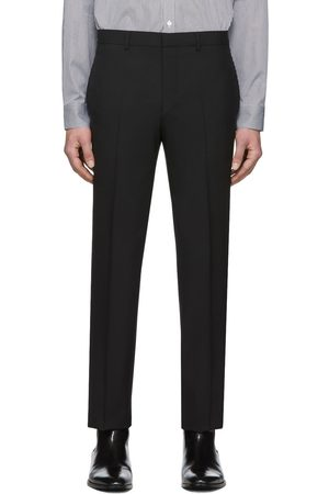 Givenchy Black Tape Detail Formal Trousers