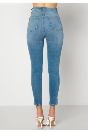 Trendyol High Waist Jeans Blue 36