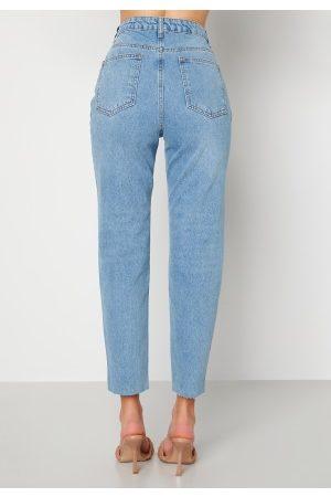 Trendyol Kvinder High waist - High Waist Jeans Blue 34