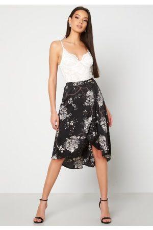 Chiara Forthi Kvinder Mønstrede nederdele - Nadia wrap skirt Black / Patterned 34