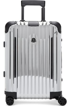 Moncler Genius Moncler Rimowa 'Reflection' Silver Suitcase